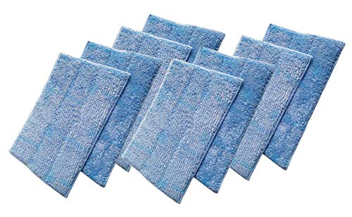 ZAITOE 8 Pack Washable Steam Mop Pads for Euroflex Monster EZ1