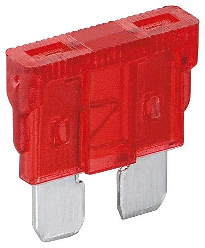 Fixpoint 20382 Kfz-Sicherungssortiment, 10 A, Rot (6-er pack)