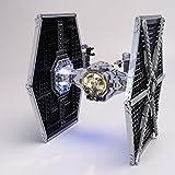 Kit Luce per Star Wars Serie Imperial Tie Fighter Building Blocks Fai da Te LED Lighting Set Compatibile con 75211 (Non Includere Il Model)