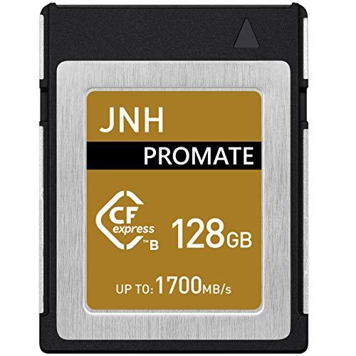 CFexpress Type B メモリーカード 128GB JNH 読取り速度最大1700MB/s RAW 4Kビデオ対応【 5年保証 】