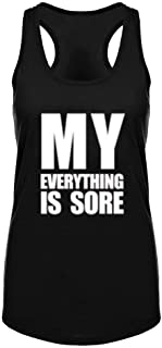 Womens Workout Tank Tops-Novelty Funny Saying Humor Fitness Gym Racerback Sleeveless Shirts for Women