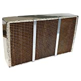 Midwest Hearth Wood Stove Catalytic Combustor Replacement Catalyst Buck Stove Model 91 (6' x 10.625' x 2' Ceramic)