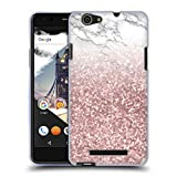 Official Nature Magick Pink Rose Gold Sparkles Marble