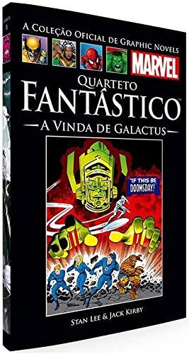 Quarteto Fantástico - A Vinda de Galactus (Coleção Oficial de Graphic Novels Marvel - Clássicos n° IV)