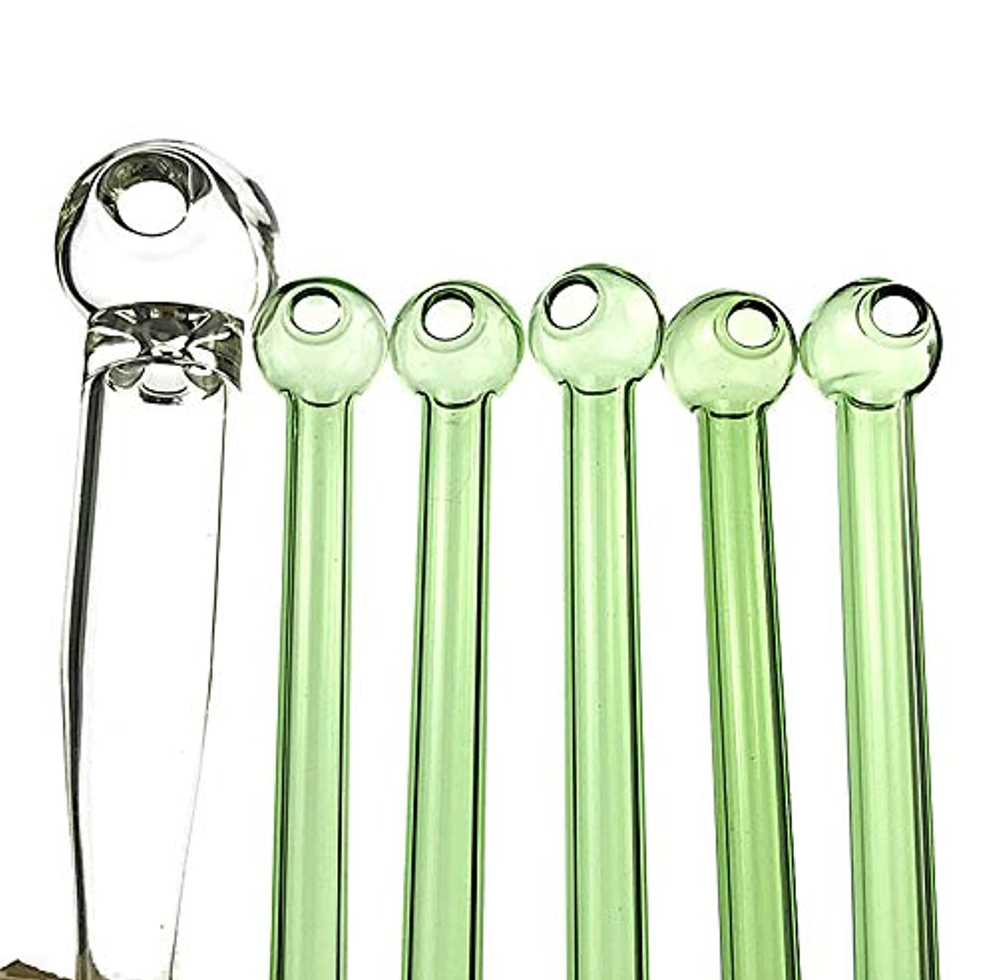 Raymond Chi 10 Pieces Fragnance Colored Oil Bowl Burner-4.1inches (Green)