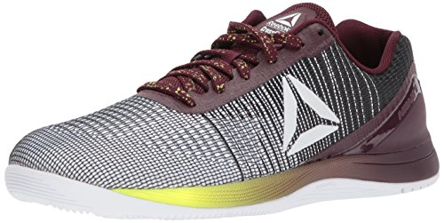 Reebok Men's CROSSFIT Nano 7 Cross Trainer, q Neon-White/Black/Solar, 10 M US