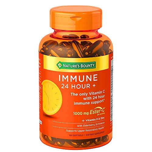 Nature's Bounty Immune 24 Hour +, 24 Hour Immune...