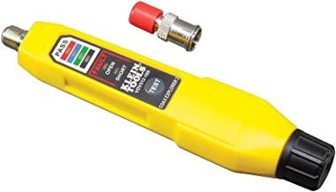 Klein Tools Coax Explorer 2 Tester with Batteries and Red Remote
