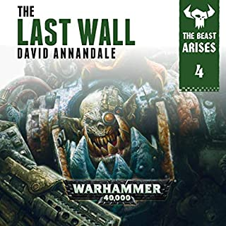 The Last Wall: Warhammer 40,000 cover art