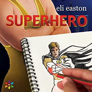 Superhero audiobook cover art
