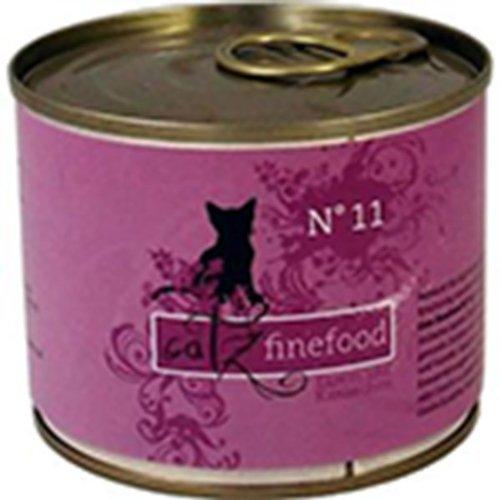 Catz finefood Lot de 24 sachets de 200 g d'agneau et de lapin