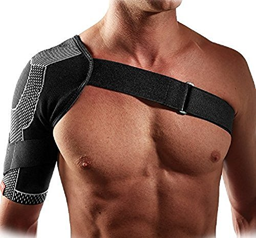 McDavid 5126 4-Way Elastic Level 2 Shoulder Wrap , Medium