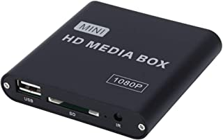 Player Player 1080P Video Hard Disk Player Multimedia U Disk HDMI High Definition AV Video Advertising Machine Player Box,...
