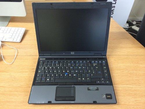 HP Compaq 6910p Laptop Notebook 2.0Ghz, Windows 7 Professional 32bit, 80Gb Hard Drive, 2Gb Ram & CDRW/DVD Combo