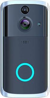 Romacci Campainha WiFi Visual Vídeo Telefone Campainha Sem Fio Inteligente Câmera 720P 2 vias Áudio Vídeo Campainha Suport...