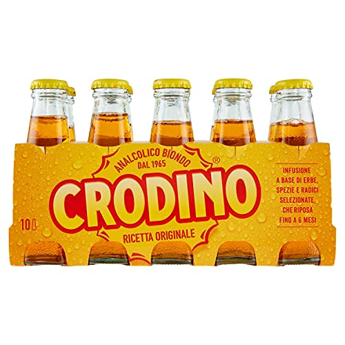 CRODINO Aperitiv ohne Alkohol - 10 x 100 ml