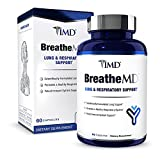 1MD BreatheMD | Lung and Respiratory Support Supplement | Promotes a Healthy Immune System | with Elderberry, Chromium, and L-Cysteine | 60 Ct.