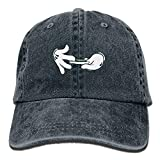 errterfte Cartoon Hands Rolling Joint Cotton Jean Cap Baseball Caps ForAdult Personalized Hat...