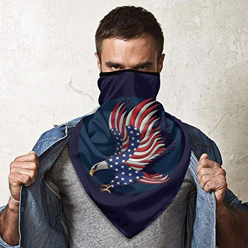 Seamless Bandanas for Men Women Face Mask Head Wraps Balaclava Neck Gaiter Outdoor Windproof Anti Dust Style