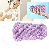 Esponja Konjac - Cuerpo de gran tamaño de onda larga, Esponja facial - Esponja para el cuidado facial seco, Esponja 100% natural, Limpieza facial mejora la piel(03#)