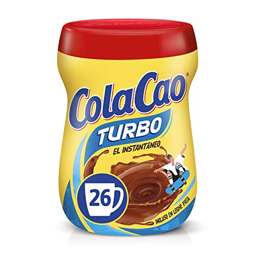 Cola Cao Turbo Cacao Instantáneo sin Grumitos, 375g