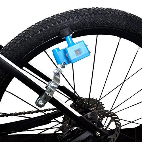 PerGrate - Generatore mobile per bicicletta, 5 V, 1 A, 1000 mAh, batteria integrata, Blau