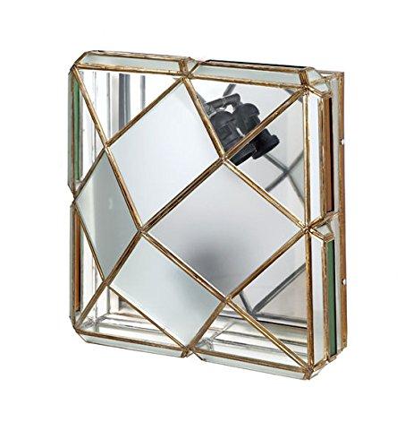 Plafon-Aplique Artesanal Granadino : Modelo AL-ANDALUS 608 de 48x25cms.