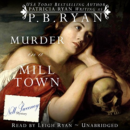 Murder in a Mill Town audiobook cover art