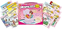 Fancy Nancy's 12-Book Fantastic Phonics Fun!: Includes 12 Mini-Books Featuring Short and Long Vowel Sounds (My First I Can Read)