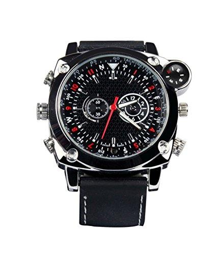 Technaxx TXX3234 Armbanduhr mit Kompass und integrierter Kamera 4GB schwarz