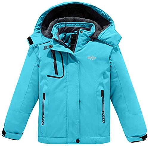CANADA WEATHER GEAR Boys Winter Coat - Heavyweight Parka Jacket with Removable Faux-Fur Trimmed Hood, Charocal Grey, Size 14/16