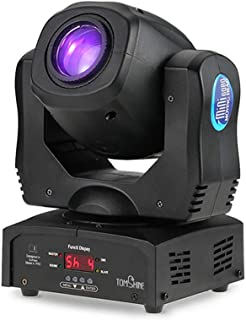 Tomshine Iluminación de Escenarios 80W DMX512 Control de Sonido Rotating Auto 9/11 Canales 8 Colores Cambiando Cabeza Luz Móvil LED Etapa Gobo Lámpara Patrón para Discoteca KTV Club Party