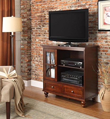 Convenience Concepts Tahoe Highboy TV Stand, Espresso