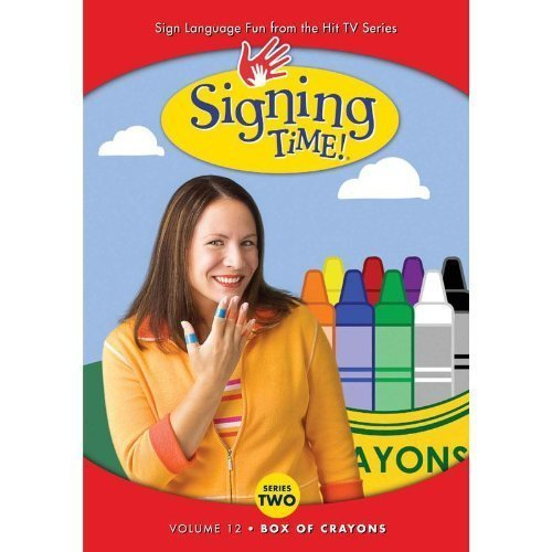 Signing Time Season 2 12: Box of Crayons by Signing Time