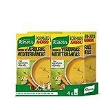 Knorr - Crema Verduras Mediterráneas sin Conservantes ni Colorantes Artificiales, 1L