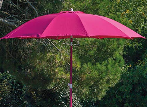 Photo de proloisirs-parasol-rond-inclinable-aluminium-270m
