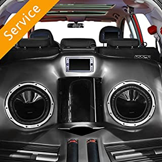 local car audio installation shop