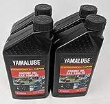 YAMAHA 4-Quarts LUB-10W30-GG-12 Yamalube Golf Car and...