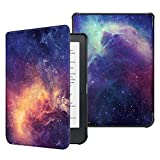 Fintie SlimShell Case for Kobo Clara HD - Ultra Thin and Lightweight PU Leather Protective Cover with Auto Sleep/Wake for Kobo Clara HD 6' eReader, Galaxy