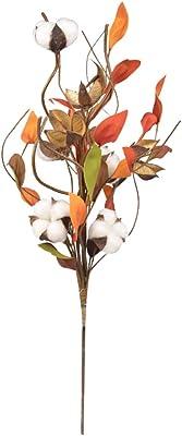 LIOOBO Atmósfera clásica Flores de algodón Rojo Artesanías de ...