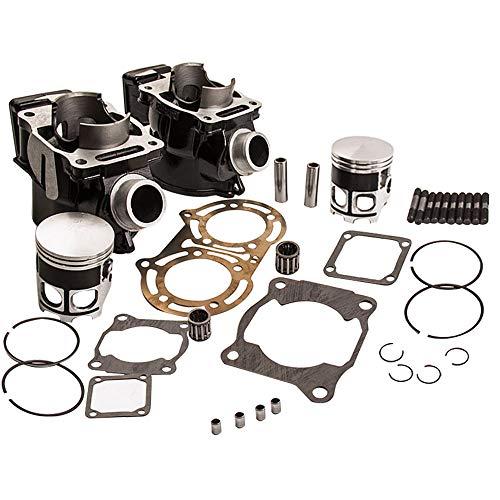 Cylinder Piston Gasket Top End Rebuild Kits for Yamaha Banshee 350 YFZ 350 1987-2006 2GU-11311-00-00 2GU-11321-00-00