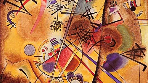 Puzzles para Adultos Rompecabezas de 1000 PiezasArte Kandinsky Puzzles de Madera Familiar Descompresión para niños Adultos Adolescentes
