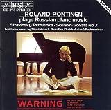 Pontinen, Roland: Russian Piano Music