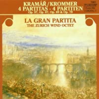 Krommer: 4 Partitas by Benoit Fromager (2013-10-28)