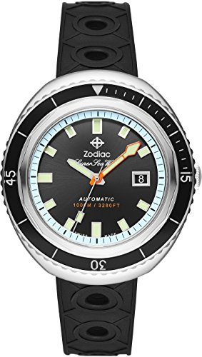 [Zodiac] Zodiac Reloj Super Mar lobo 68zo9501?? Hombre [Regular importados]