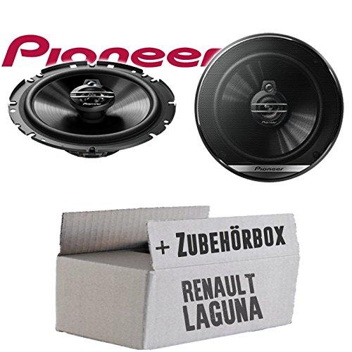 Lautsprecher Boxen Pioneer TS-G1730F - 16cm 3-Wege Koax Paar PKW 300WATT Koaxiallautsprecher Auto Einbausatz - Einbauset für Renault Laguna 1 Front - JUST SOUND best choice for caraudio