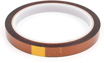 uxcell 絶縁耐熱テープ 幅10mm 耐高温 耐熱 ポリイミド製