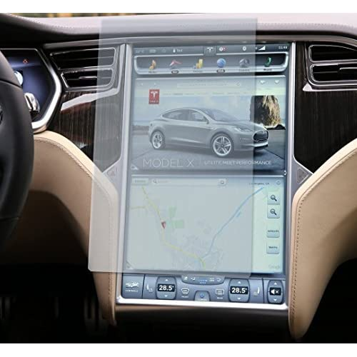 Topfit Tempered Glass Touch Screen Protector Compatible Model S and Model X
