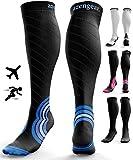aZengear Compression Socks for Women & Men (20-30 mmHg) Best for Flight Travel - Running - Athletics - Nurses...