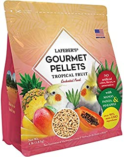 LAFEBER'S Tropical Fruit Pellets for Cockatiel 4lb
